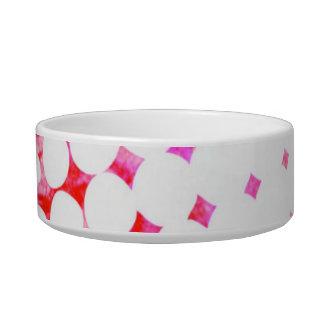 Tigela Design de explosão cor-de-rosa da banda desenhada