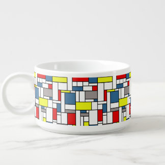 Tigela Design do estilo de Mondrian