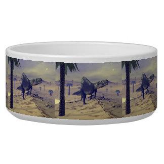 Tigela Dinossauro de Arizonasaurus - 3D rendem