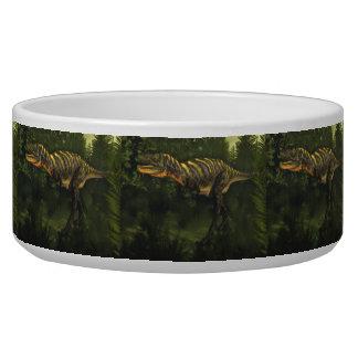Tigela Dinossauro do Aucasaurus - 3D rendem