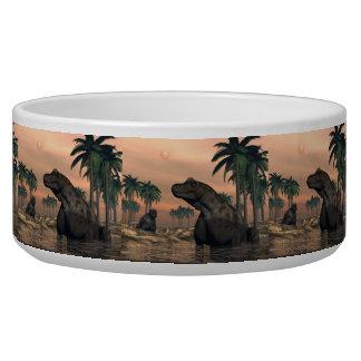 Tigela Dinossauros de Keratocephalus - 3D rendem