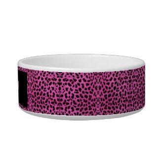 Tigela Escudela para animais cerâmicos Leopardo