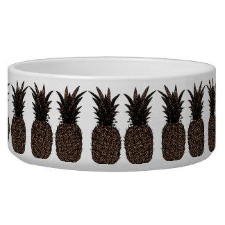 Tigela Escudela para animais de cerâmica Ananás Leopardo