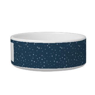 Tigela Escudela para animais de cerâmica Pattern Cruz