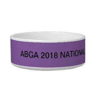 Tigela Especialidade do nacional de ABGA 2018. Uma