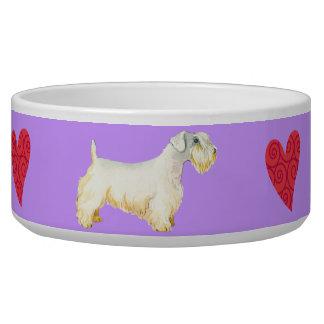 Tigela Eu amo meu Sealyham Terrier