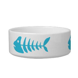 Tigela Fishbones azuis