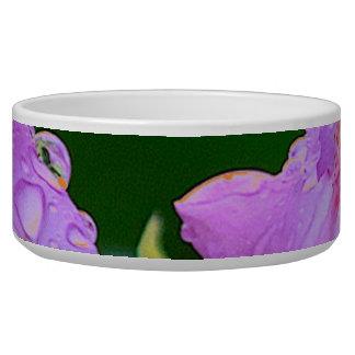 Tigela Flor violeta