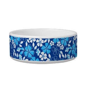 Tigela Flores azuis & brancas