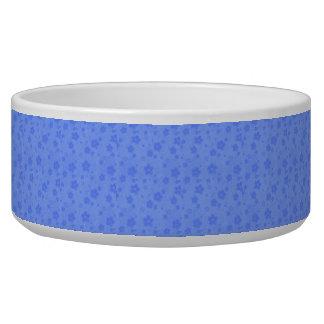 Tigela Flores de papel azuis