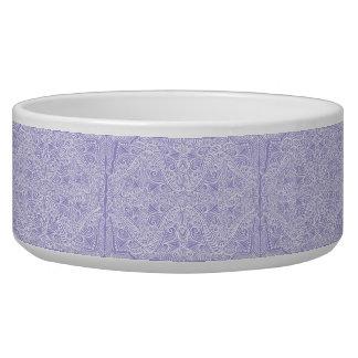 Tigela Fluxo elegante do Lilac