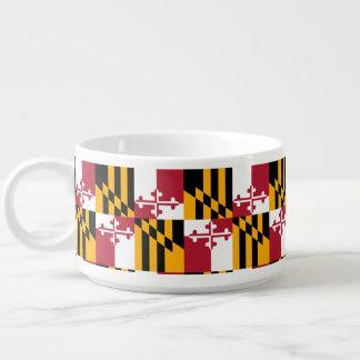 Tigela Gráfico dinâmico da bandeira do estado de Maryland