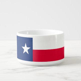Tigela Gráfico dinâmico da bandeira do estado de Texas em