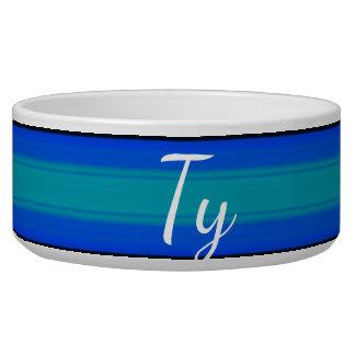 Tigela HAMbyWhiteGlove - azul quente quente da bacia do