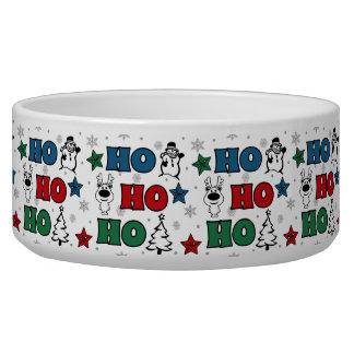 Tigela Ho-Ho-Ho design do Natal