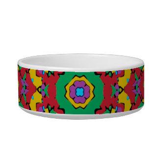 Tigela Impressão colorido geométrico