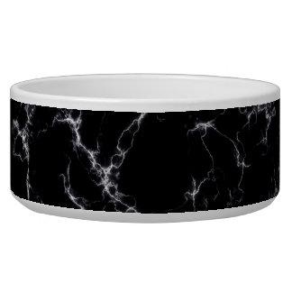 Tigela Mármore elegante style4 - preto e branco