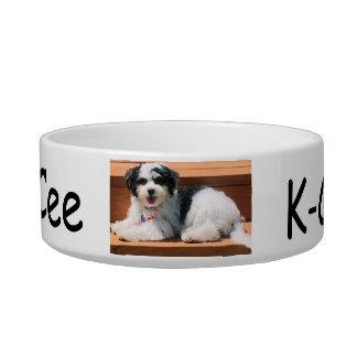 Tigela Meio do prato do animal de estimação, cão K-ECO