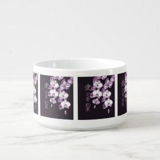 Tigela Orquídeas japonesas
