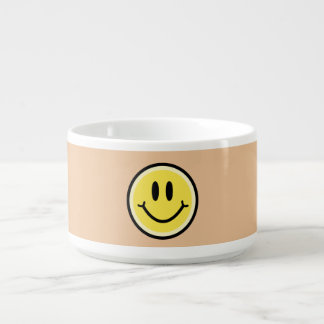 Tigela Sorriso amarelo