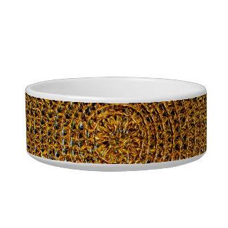 Tigela Teste padrão espiral do ouro