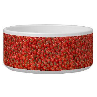 Tigela Tomates vermelhos da videira