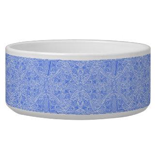 Tigela Torções florais azuis pálido