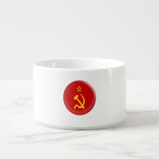 Tigela União Soviética - bandeira de URSS