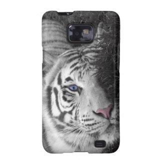 Tigre branco capinha samsung galaxy SII