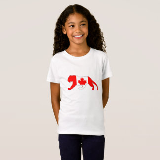 Tigre Canadá Camiseta