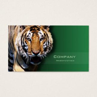 Tigre Cartão De Visitas