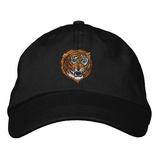 Tigre -- Chapéu Boné Bordado
