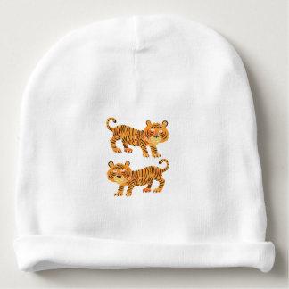 tigre chinês gorro para bebê