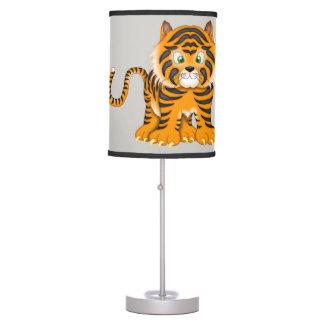 Tigre de bebê bonito da lâmpada do miúdo