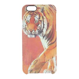 Tigre de Bengal Capa Para iPhone 6/6S Clear
