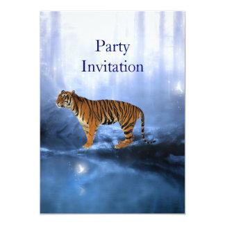 Tigre do convite no Waterhole