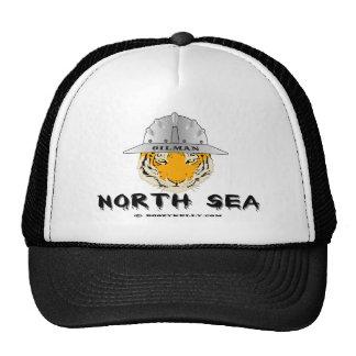 Tigre do Mar do Norte, chapéu, campos petrolíferos Boné