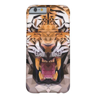 Tigre geométrico capa barely there para iPhone 6