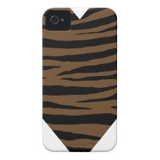 Tigre GH de Brown da lontra Capinhas iPhone 4