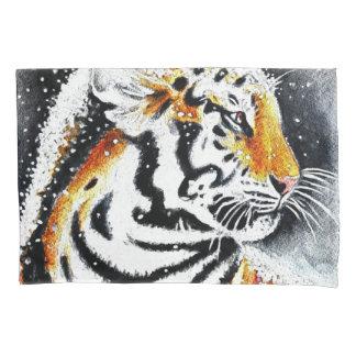 Tigre na neve noir