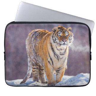 Tigre Siberian na neve, China Sleeve Para Laptop