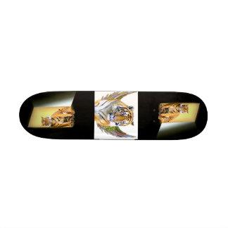 Tigres da esperança & do Love_ Skate Personalizado