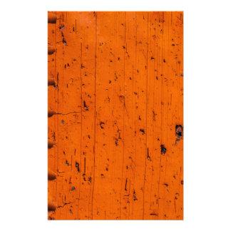 Tijolo alaranjado - átomo da criação flyer 13.97 x 21.59cm