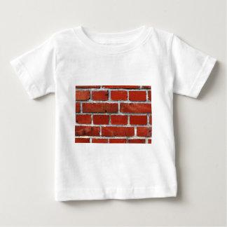 Tijolos Camiseta Para Bebê