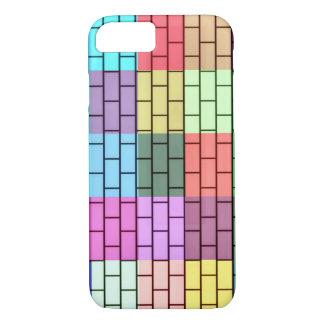 Tijolos coloridos capa iPhone 7