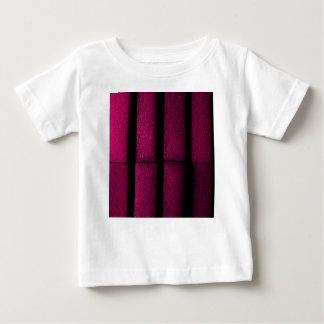 Tijolos roxos camiseta para bebê