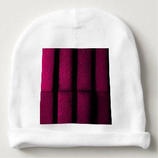 Tijolos roxos gorro para bebê