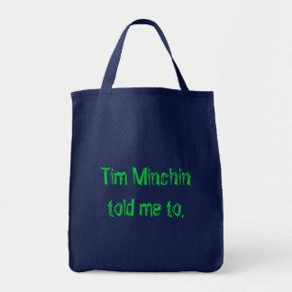 Tim Minchin Bolsa Tote