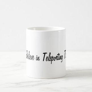 Tim Teleporting Caneca De Café