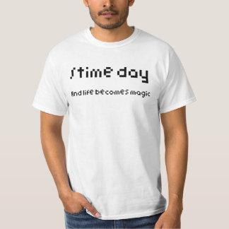 Time Day Camiseta